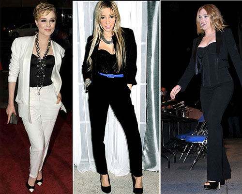 Mulheres famosas usam