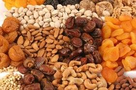 frutas secas fonte de patássio
