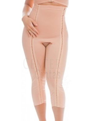 Calça Yoga com abertura nas pernas