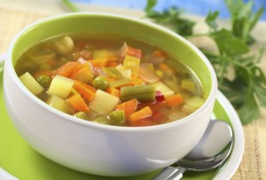Sopa nutritiva para aquecer
